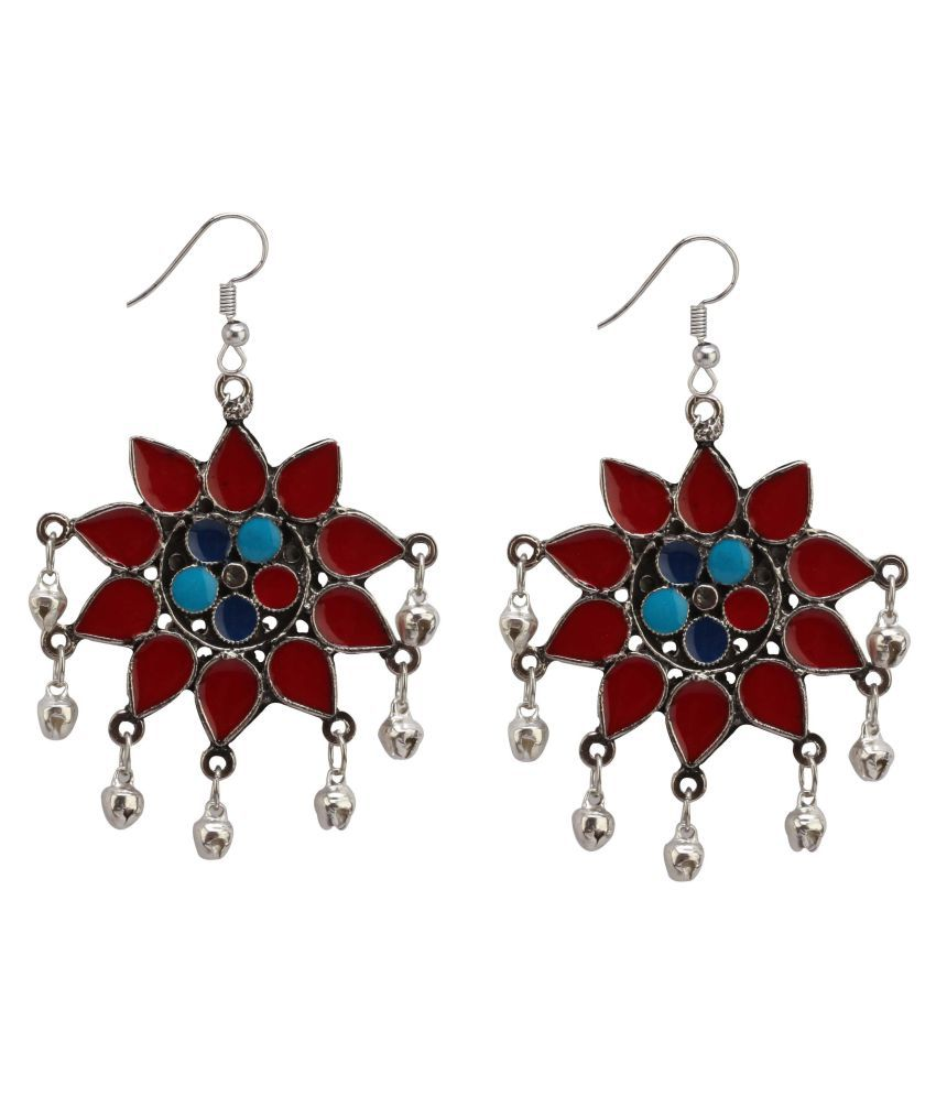 Bollywood fashion indian ethnic style jhumki pair or Multicolor earrings Jewelry for Elegant Fashion Women and Girls