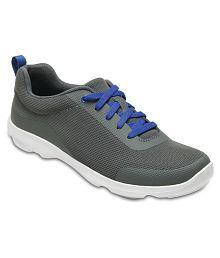 Crocs Gray Running Shoes