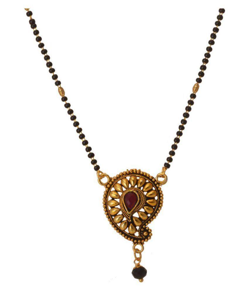 M4U Fashion Antique Gold Mangalsutra
