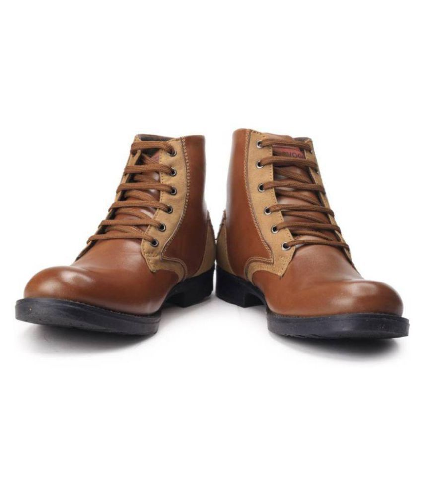 Provogue Brown Casual Boot