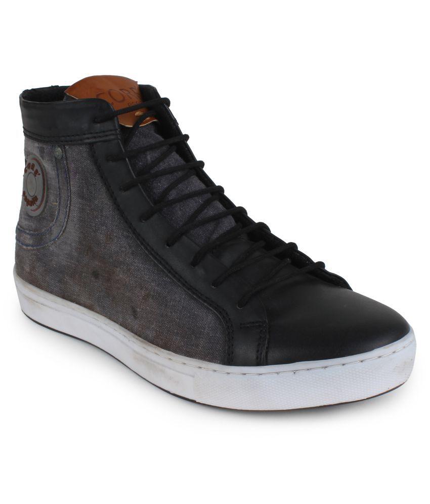 CORE' ESPANA Black Casual Boot