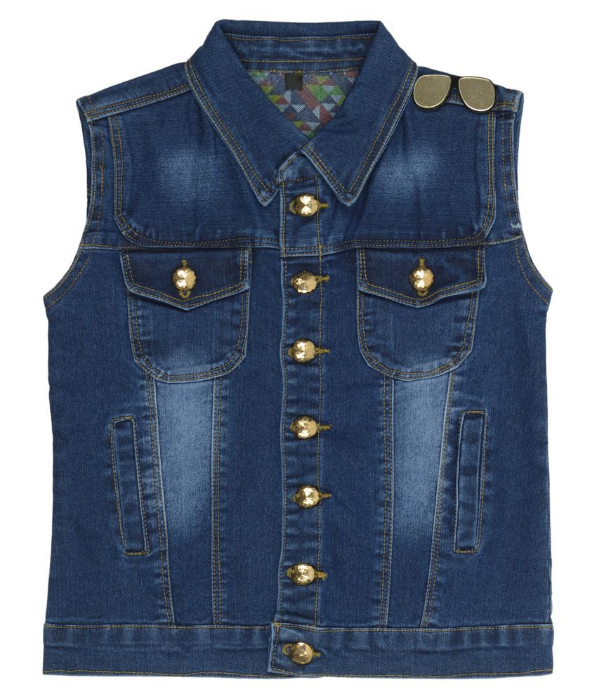 Carrel Girls Denim Dark blue Jacket