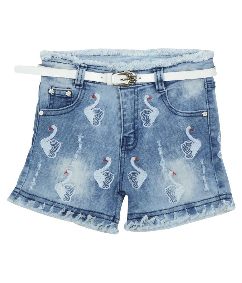 Carrel Girls Dark Blue Short