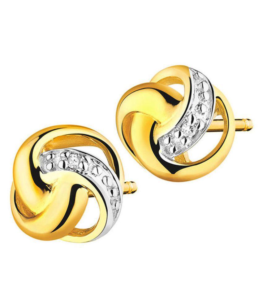 Arina Jewellery 92.5 Silver Cubic zirconia Studs