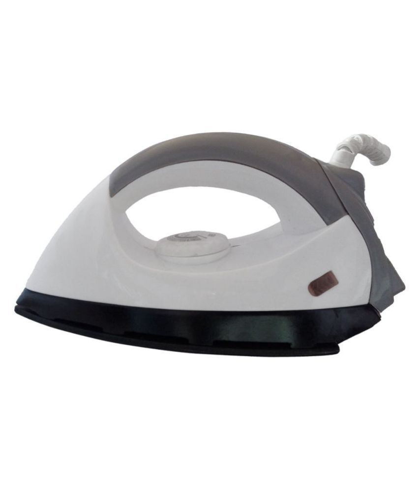 Bentag New Creta 750W Dry Iron White and Black