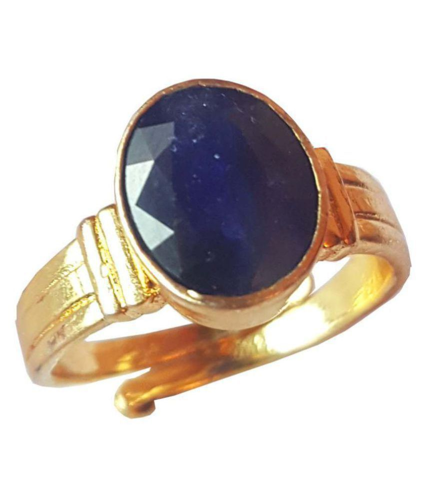 RS JEWELLERS Panch Dhatu Panch Dhatu Sapphire Ring