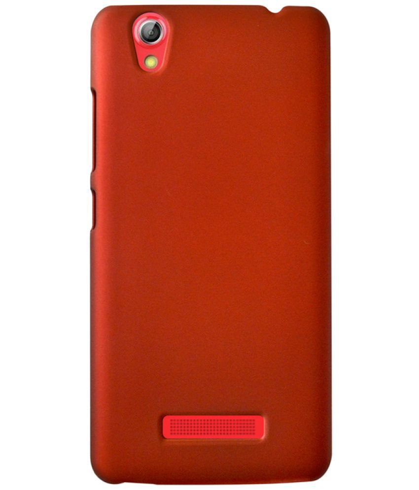 best website adf50 5b8e1 Gionee Pioneer P5L Plain Cases Coverage - Red