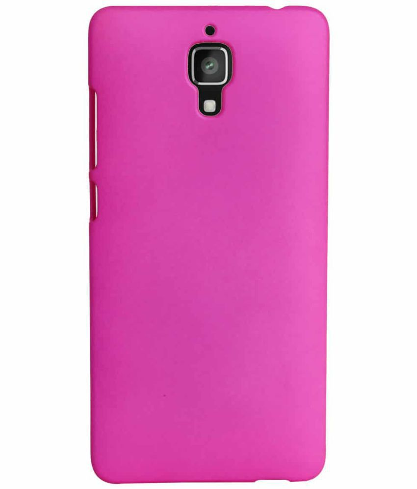 OnePlus 3 T Plain Cases Coverage - Pink
