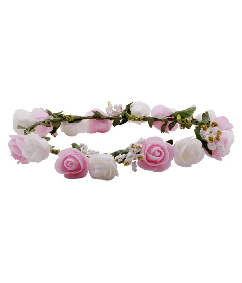 Hair accessories online snapdeal - Sanjog Pink Party Head Band