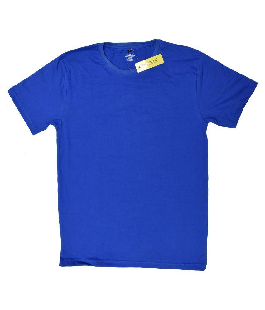 NAMAKOOL Blue Round T-Shirt