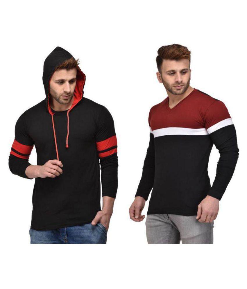 oovs Multi Hooded T-Shirt