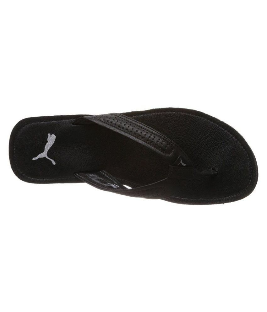 e3454acfdf15 Puma Men s Java III DP Hawaii Thong Black Sandals Price in India ...