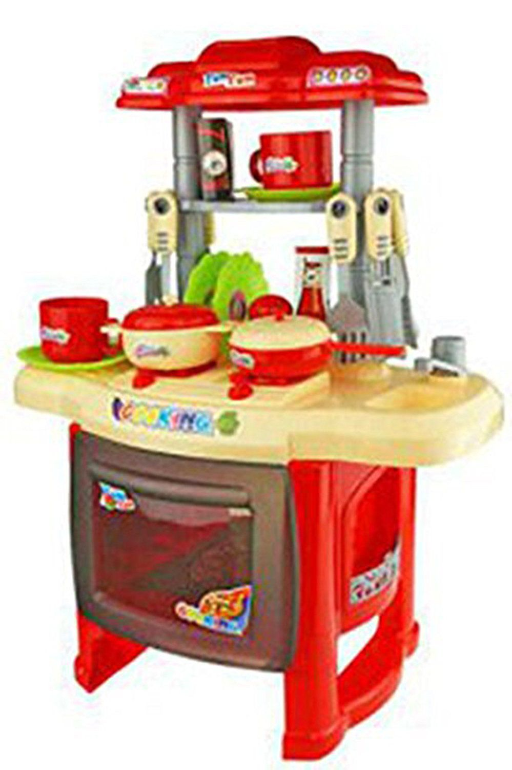 ... Webby Kids Kitchen Set Children Kitchen Toys Large Kitchen Cooking  Simulation Model Play Toy For Girl