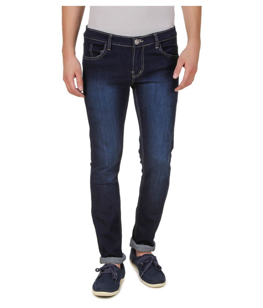 5ACE Dark Blue Slim Jeans