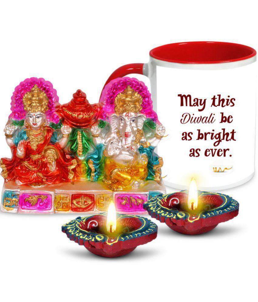 AlwaysGift Multicolour Terracotta Figurines 1 - Pack of 1
