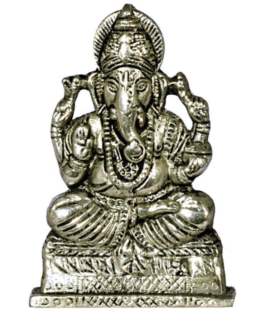 JY Ganesha Brass Idol