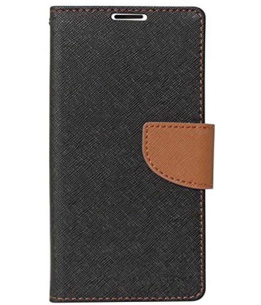 Lenovo K3 Note Music Flip Cover by SCHOFIC - Brown