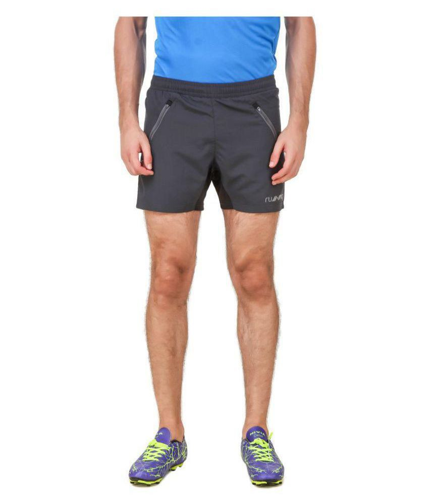 Nivia Blue Polyester Running Shorts