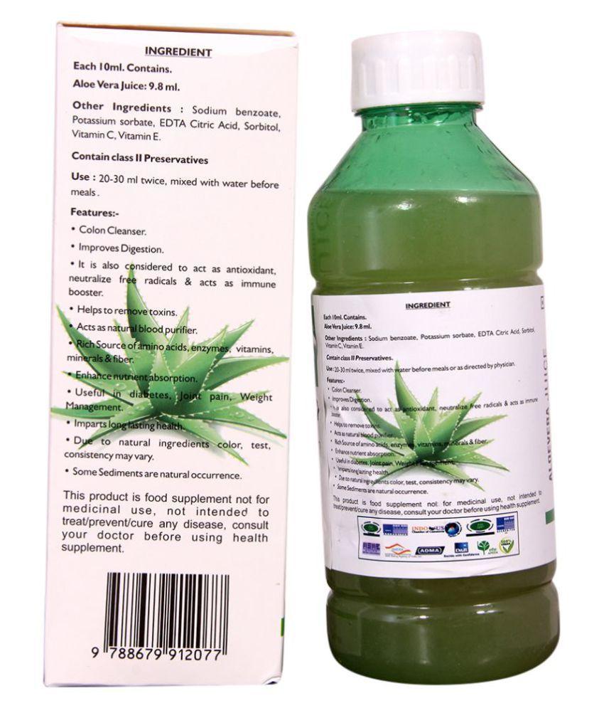 Konark Aloevera Fruit Juice 1000 ml: Buy Konark Aloevera