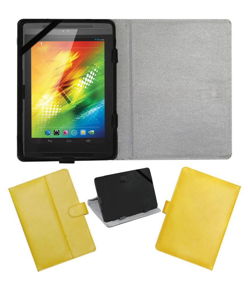 sale retailer 40b06 25a8d Samsung Galaxy Tab 4 T331 Flip Cover By ACM Yellow