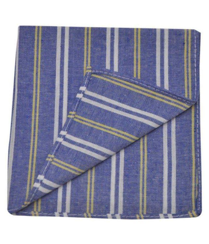 The Vatican Blue Silk Handkerchief