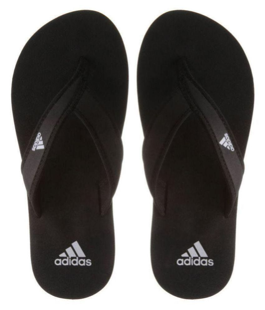 97f715f2c8 Adidas adi rio Black Daily Slippers Price in India- Buy Adidas adi rio  Black Daily Slippers Online at Snapdeal