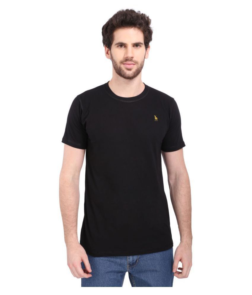 Bisq Black Round T-Shirt