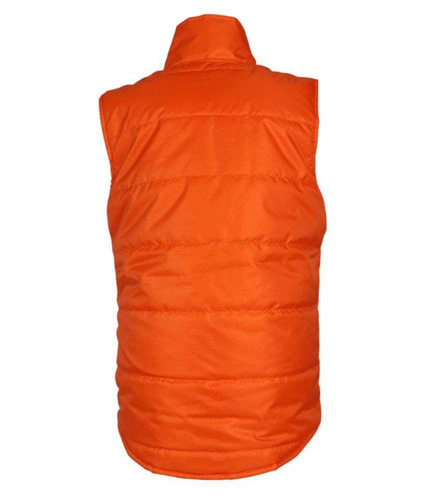 Orange Polyester JACKET