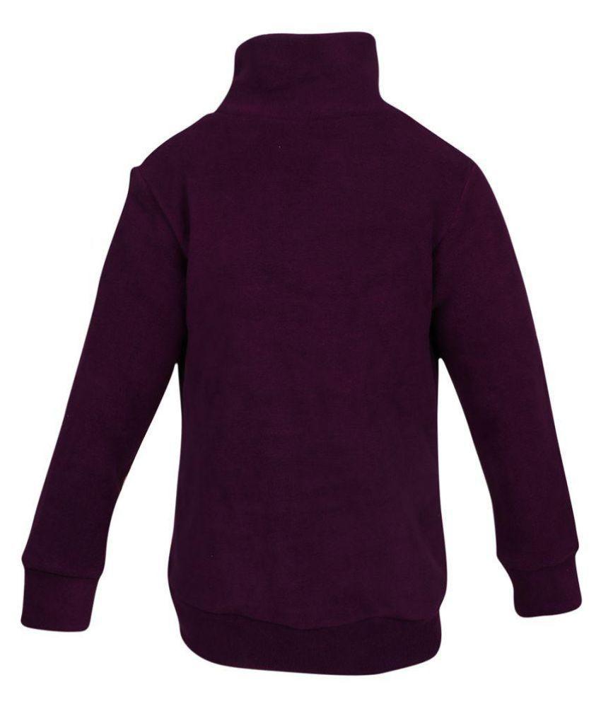 Purple Cotton SWEAT SHIRT