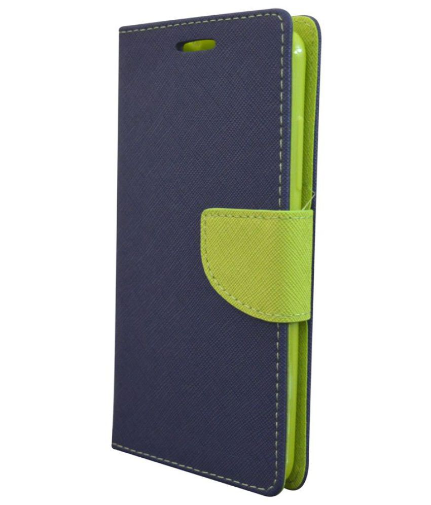 uk availability 88d51 4f017 Samsung Galaxy Note 3 Flip Cover by Rdcase - Blue