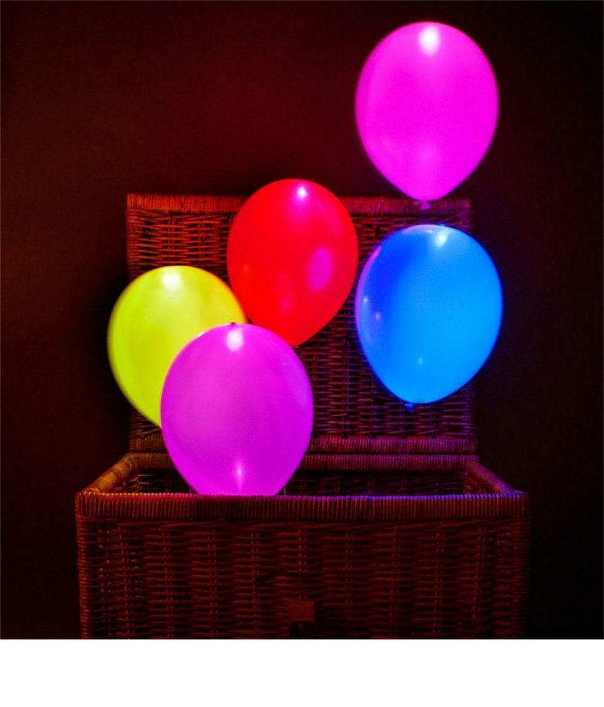Tingoking Set of 25 LED Balloons