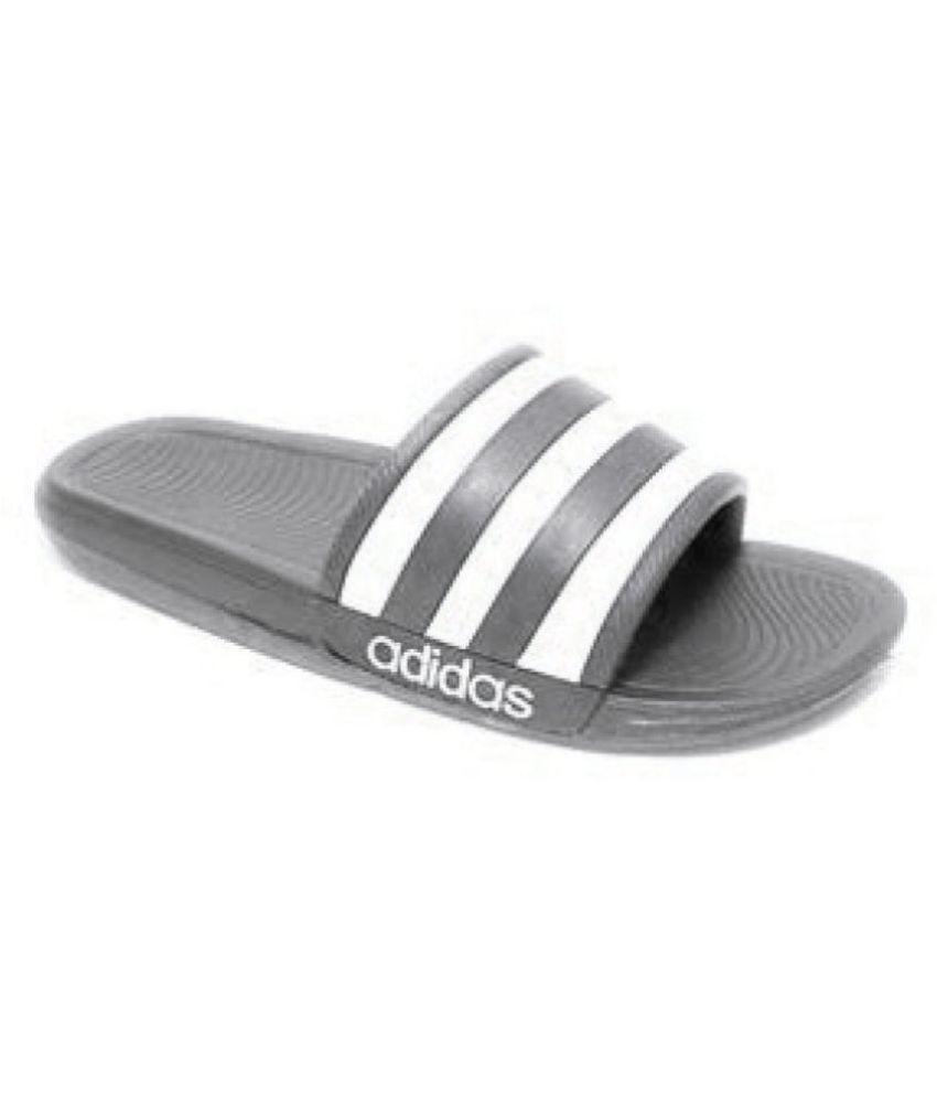 06f81f1ef5a Adidas Adidas slider flip flop slipper Black Slide Flip flop Price ...