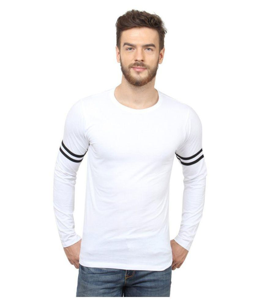 SCATCHITE White Round T-Shirt