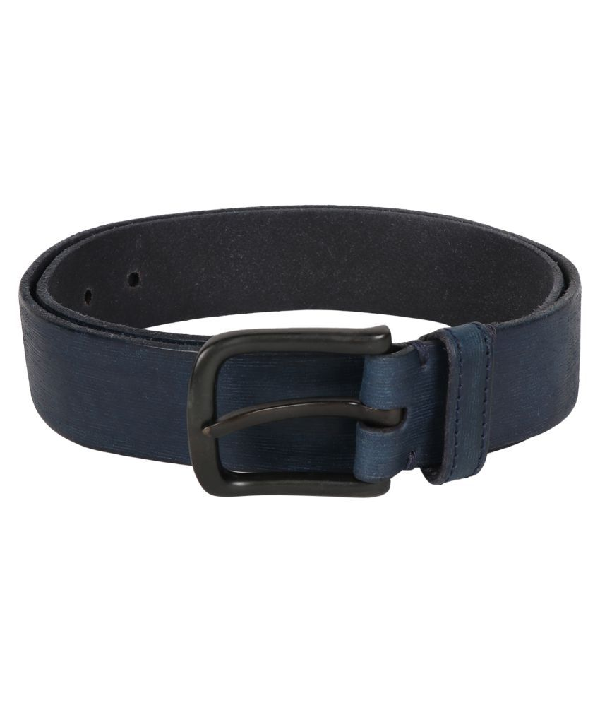Vickiana quest Blue Leather Casual Belts
