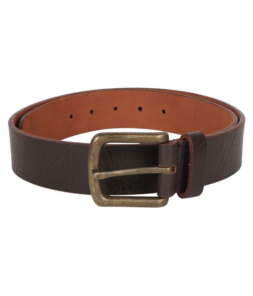 Vickiana quest Brown Leather Casual Belts