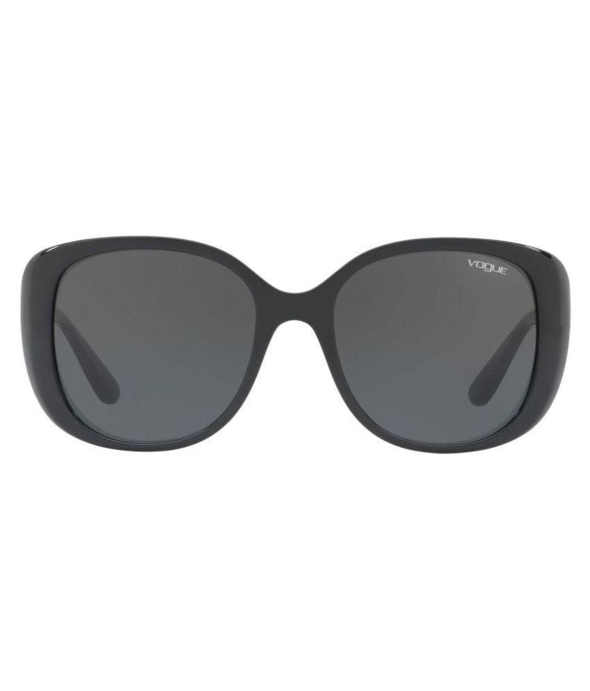 Vogue Black Cat Eye Sunglasses ( 0VO5155SW44/8755 )