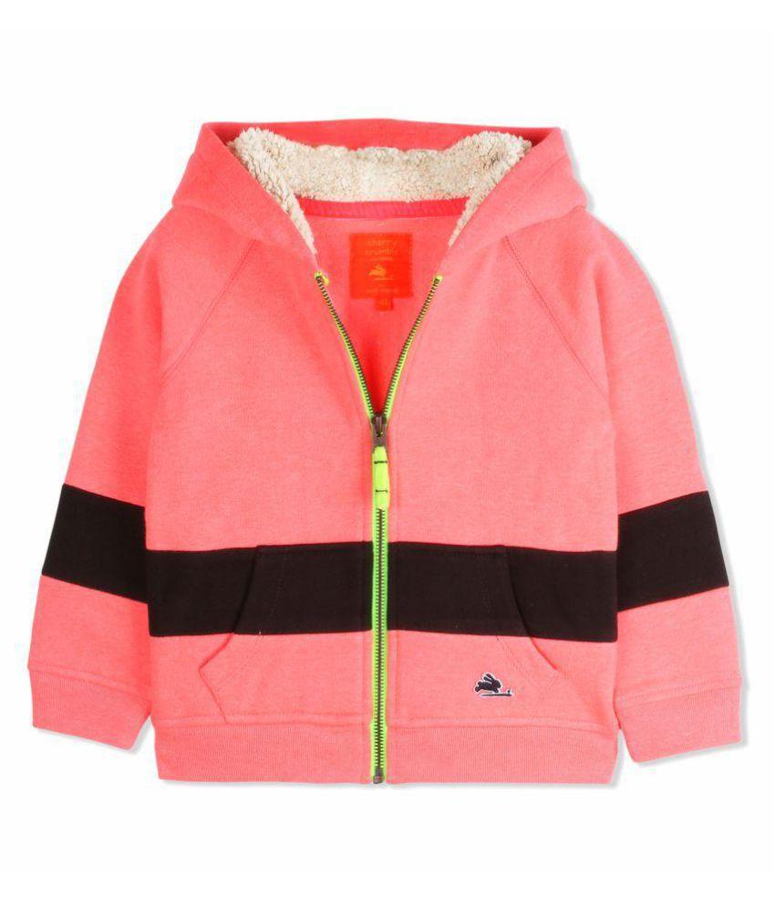 Cherry Crumble Cosy Full-Zip Sweatshirt