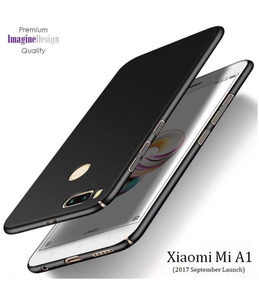 d2e3501e3c2 Xiaomi MI A1 Plain Cases Wow Imagine - Black - Plain Back Covers Online at Low  Prices