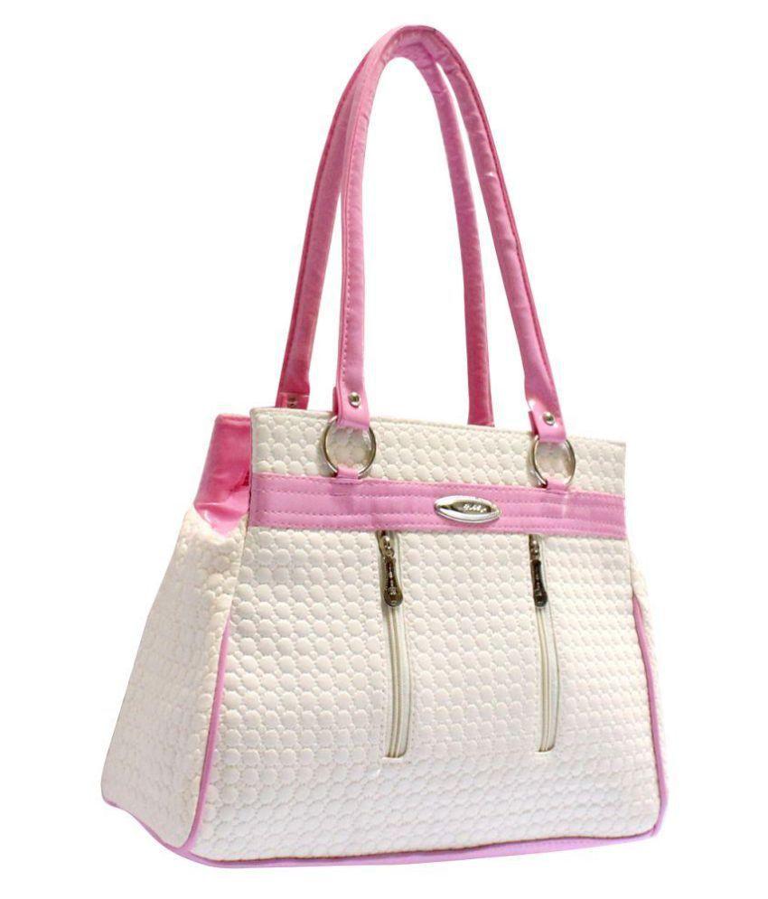 HD Pink Fabric Handbags Accessories