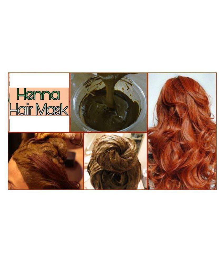 Shagun Gold Natural Henna Powder Semi Permanent Hair Color Black 400 gm
