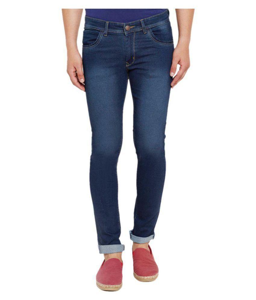 Stylox Dark Blue Slim Jeans