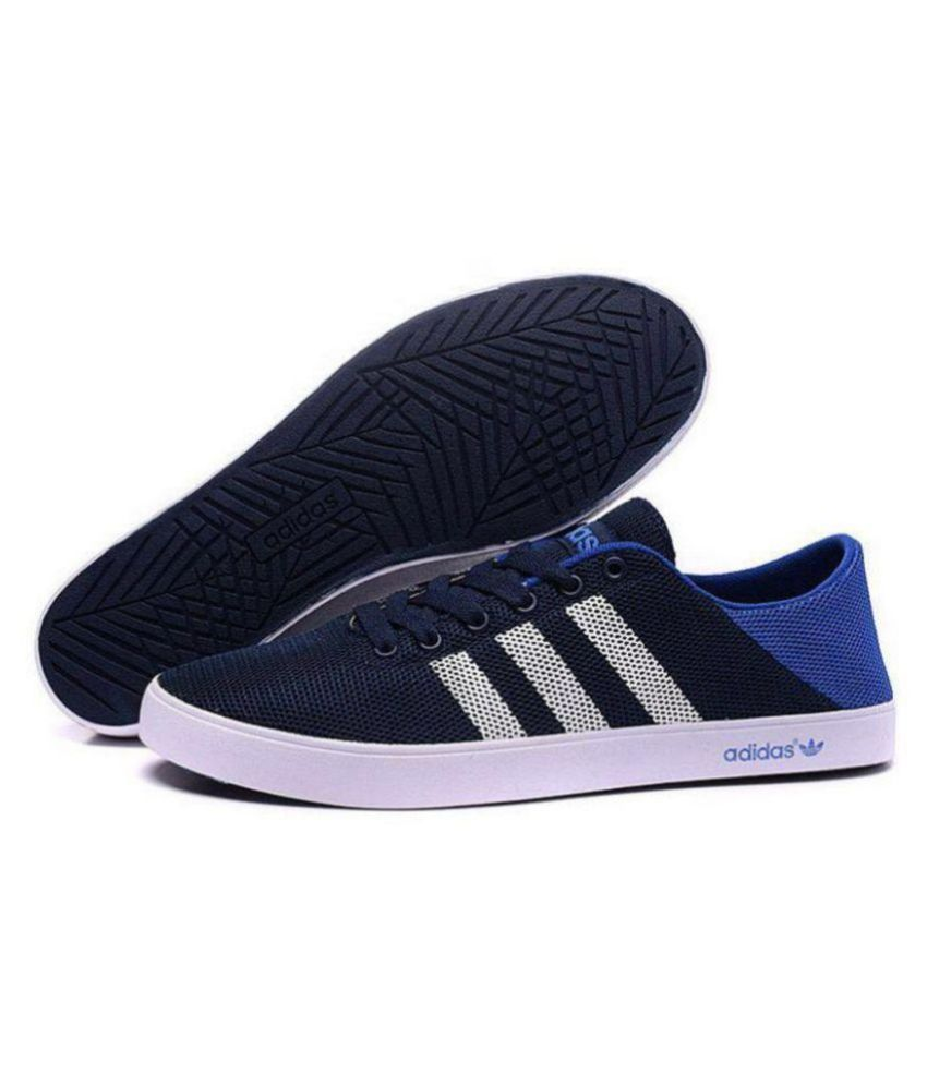 Adidas Neo 1 Blue Casual Shoes - Buy Adidas Neo 1 Blue Casual Shoes Online  at Best Prices in India on Snapdeal dabf366dc8