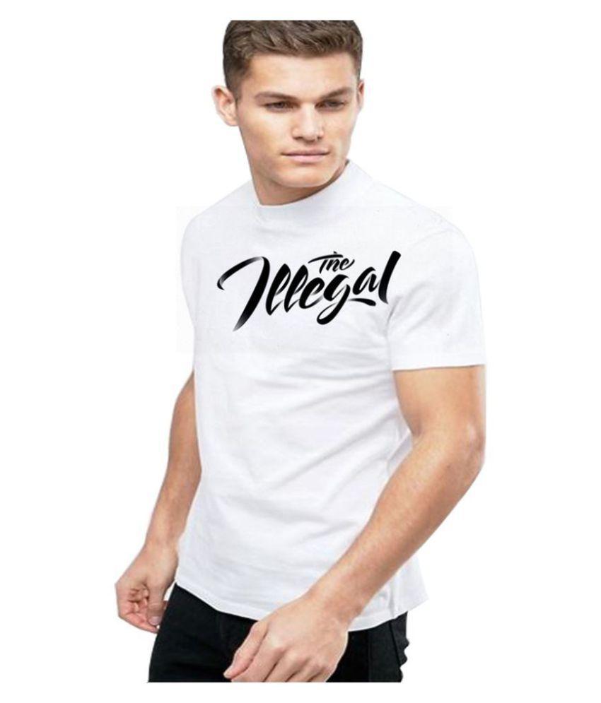 Epic ink White Round T-Shirt