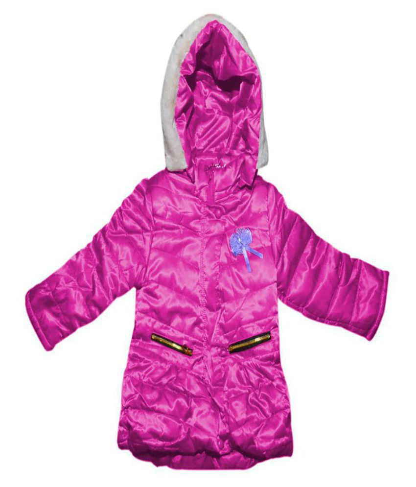 Finery Self design Boy's & Girl's Winter Jacket