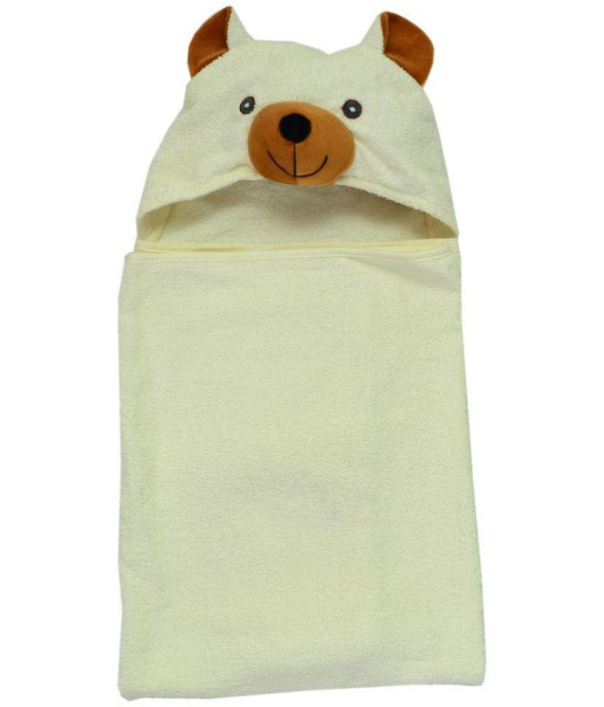 Baby Elements Multi Cotton Bath Towels Hooded Towel