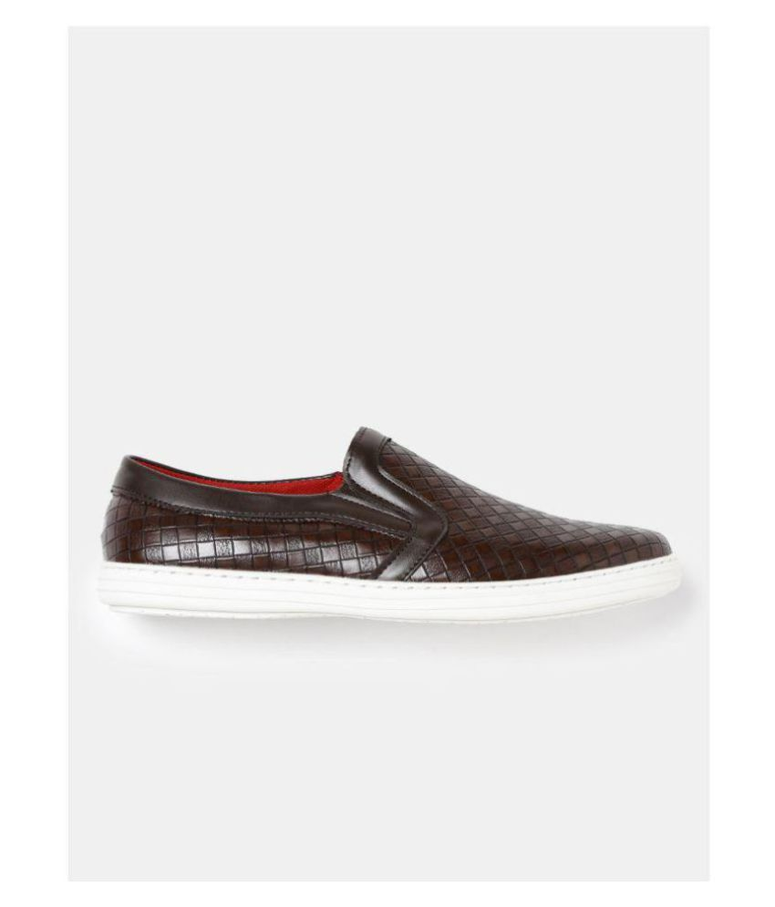 Roadster Slip-Ons Brown Casual Shoes