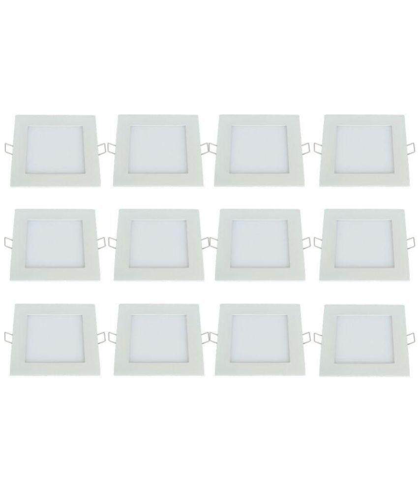 Bene 18W Square Ceiling Light 22 cms. - Pack of 12
