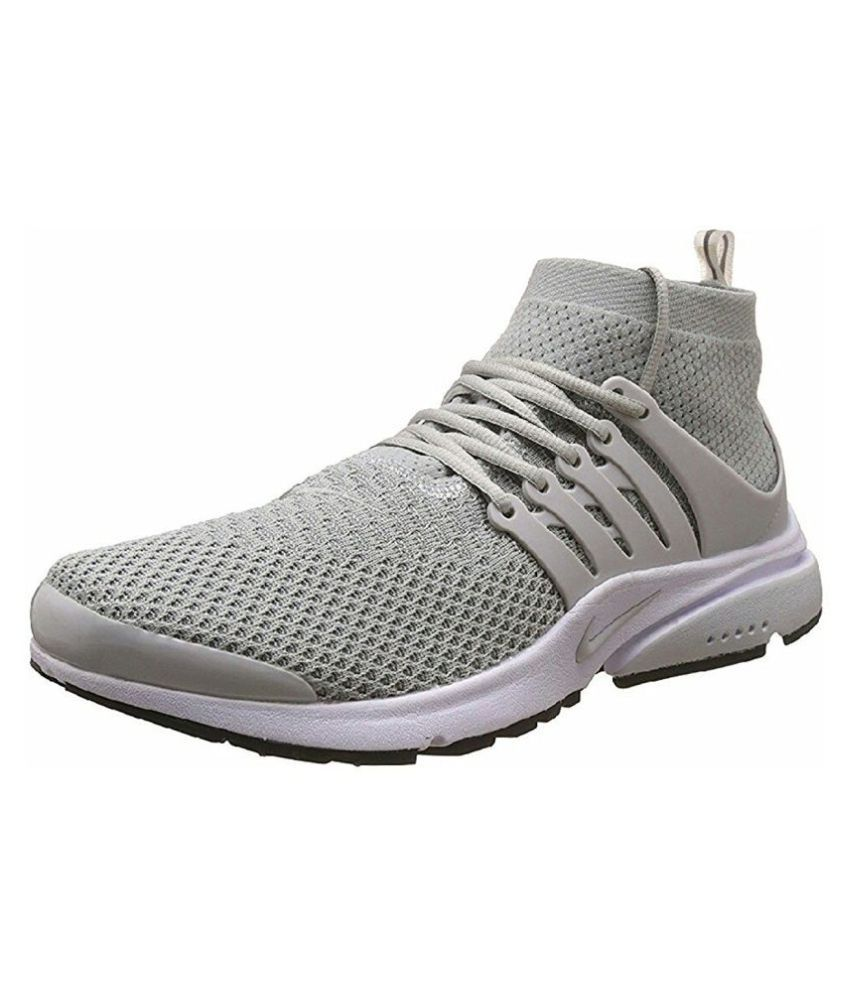 detailed look c95ba d1f03 Nike Air Presto Grey Running Shoes - Buy Nike Air Presto Grey Running Shoes  Online at Best Prices in India on Snapdeal
