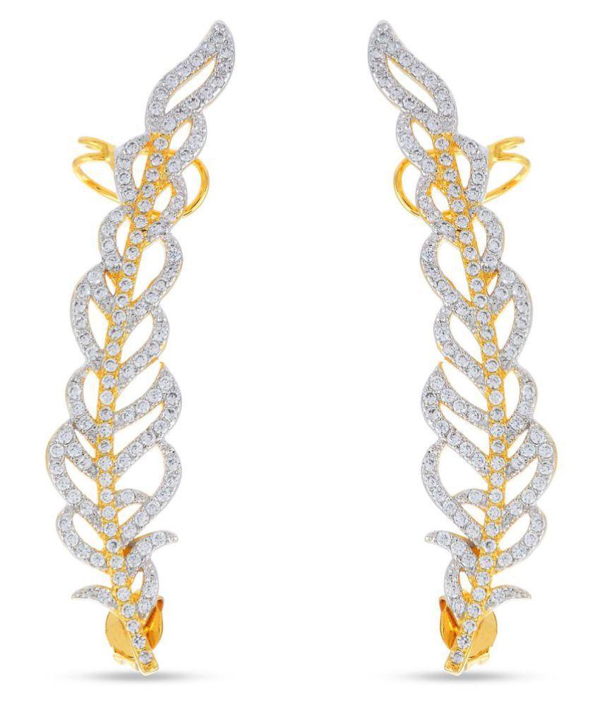 American Diamonds Desginer Stylish Club Wear Dangler Earring For Girls / Women