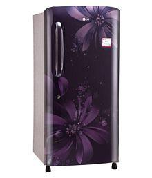 LG 215 Ltr 3 Star GL-B221APAW Single Door Refrigerator - Purple